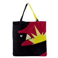 Eagle Grocery Tote Bag by Valentinaart