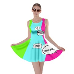 Thought Bubble Skater Dress by So0oME