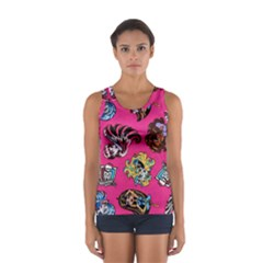 Large 1 Women s Sport Tank Top  by AnjaniArt