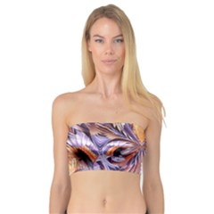 Fire Goddess Abstract Modern Digital Art  Bandeau Top by CrypticFragmentsDesign