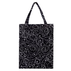 Black And White Magic Classic Tote Bag by Valentinaart