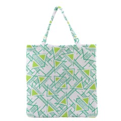 Ethnic Geo Pattern Grocery Tote Bag by dflcprints
