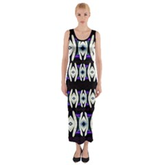 A Touch Of Japan Fitted Maxi Dress by pepitasart