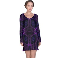Universe Star Long Sleeve Nightdress by MRTACPANS