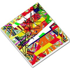 Colorful Abstraction By Moma Small Memo Pads by Valentinaart