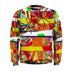 Colorful Abstraction By Moma Men s Sweatshirt