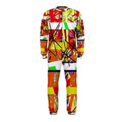 Colorful Abstraction By Moma Onepiece Jumpsuit (kids) by Valentinaart