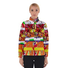 Colorful Abstraction By Moma Winterwear by Valentinaart