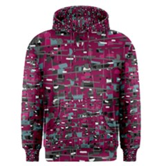 Magenta Decorative Design Men s Pullover Hoodie by Valentinaart