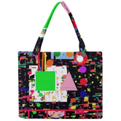 Colorful Facroty Mini Tote Bag by Valentinaart