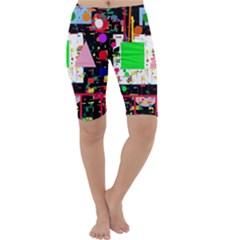 Colorful Facroty Cropped Leggings