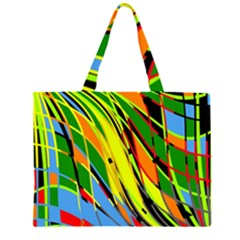 Jungle Zipper Large Tote Bag by Valentinaart