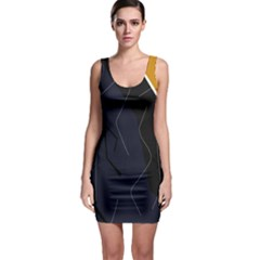 Digital Abstraction Sleeveless Bodycon Dress by Valentinaart