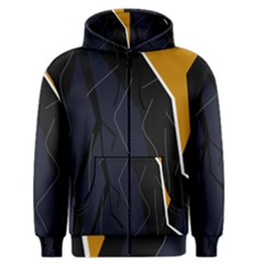 Digital Abstraction Men s Zipper Hoodie by Valentinaart