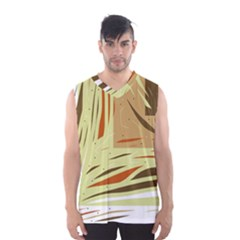 Brown Decorative Design Men s Basketball Tank Top by Valentinaart