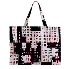 Abstract City Landscape Mini Tote Bag