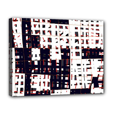 Abstract City Landscape Canvas 14  X 11  by Valentinaart