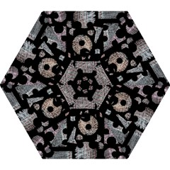 Elegant Puzzle Mini Folding Umbrellas by Valentinaart