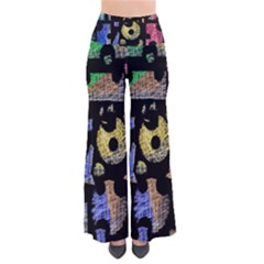 Colorful Puzzle Pants by Valentinaart