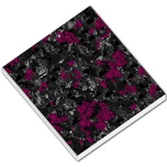 Magenta And Gray Decorative Art Small Memo Pads by Valentinaart