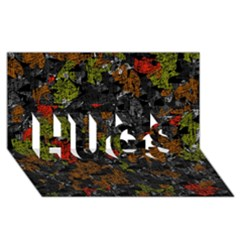 Autumn Colors  Hugs 3d Greeting Card (8x4) by Valentinaart