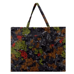 Autumn Colors  Zipper Large Tote Bag