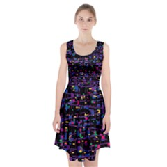 Purple Galaxy Racerback Midi Dress by Valentinaart