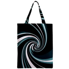 Elegant Twist Zipper Classic Tote Bag by Valentinaart