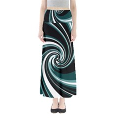 Elegant Twist Maxi Skirts by Valentinaart