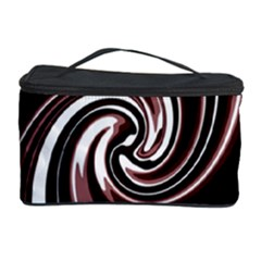 Decorative Twist Cosmetic Storage Case by Valentinaart