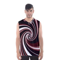 Decorative Twist Men s Basketball Tank Top by Valentinaart