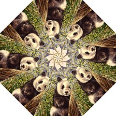 Panda Folding Umbrellas by ArtByThree