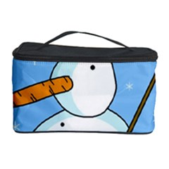 Snowman Cosmetic Storage Case