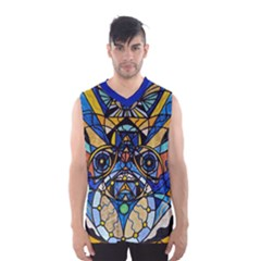 Sirian Solar Invocation Seal   Men s Basketball Tank Top by tealswan