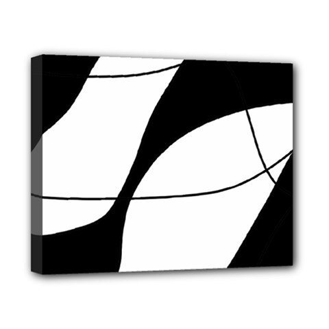 White And Black Shadow Canvas 10  X 8  by Valentinaart