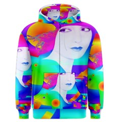Abstract Color Dream Men s Zipper Hoodie by icarusismartdesigns
