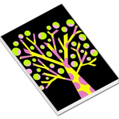Simple Colorful Tree Large Memo Pads by Valentinaart