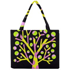 Simple Colorful Tree Mini Tote Bag by Valentinaart