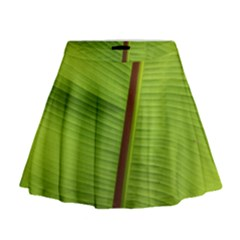Ensete Leaf Mini Flare Skirt