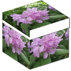 Purple Rhododendron Flower Storage Stool 12   by picsaspassion