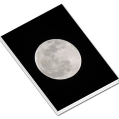Full Moon At Night Large Memo Pads by picsaspassion