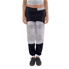 Full Moon At Night Women s Jogger Sweatpants by picsaspassion