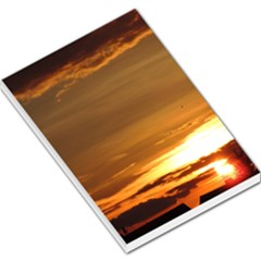 Summer Sunset Large Memo Pads by picsaspassion