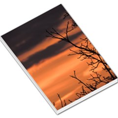 Tree Branches And Sunset Large Memo Pads by picsaspassion