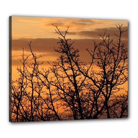 Colorful Sunset Canvas 24  X 20  by picsaspassion