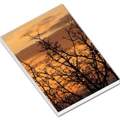 Colorful Sunset Large Memo Pads by picsaspassion