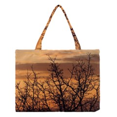 Colorful Sunset Medium Tote Bag by picsaspassion