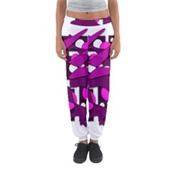 Something Purple Women s Jogger Sweatpants by Valentinaart