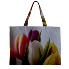 Colored By Tulips Mini Tote Bag by picsaspassion
