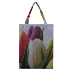 Colored By Tulips Classic Tote Bag by picsaspassion